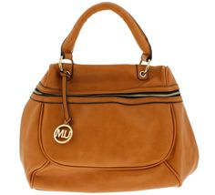 CALYPSO TAN WOMEN'S HANDBAG ONLY $18.88