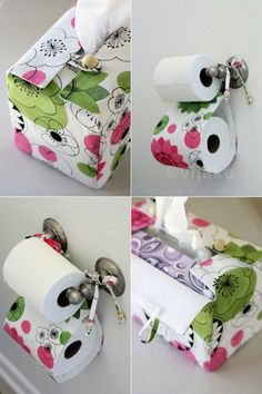 Toilet Tissue and Tissue Box Cover