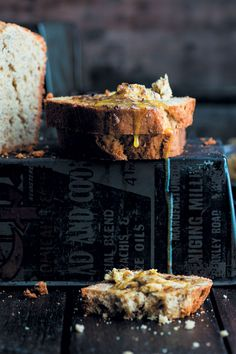 A recipe straight from Grandma& collection - banana bread with biltong butter. It makes for a modern marriage of two classics.