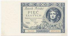 5 Zlotych 1930 (Mädchenportrait) Polen Zweite Republik
