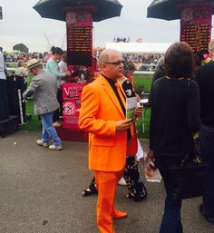 Yet for all the great things @Beverley_Races this term, we think this tangerine clobber was literally the highlight