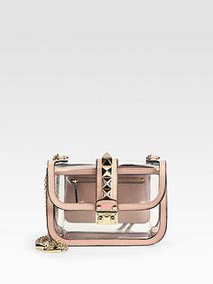 Valentino Transparent PVC Small Shoulder Bag