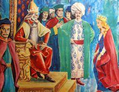 OĞUZ TOPOĞLU : esir sultan cem sultan tablosu sezgin burak