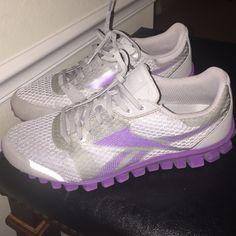 Reebok Real Flex Running Sneakers Grey   Purple Reebok Flex Running Shoes.  Price is Firm aaea1ff63