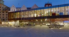 Image 12 of 32 from gallery of Fish market in Bergen / Eder Biesel Arkitekter. Photograph by Norbert Miguletz
