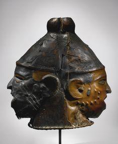 Ejagham Janus Helmet Mask, Cross River Region, Nigeria and Cameroon   lot   Sotheby's