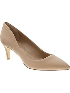 Giah Pump. $98. A simple nude pump with a subtle heel. This shoe can be paired with almost everything and wears from Spring through Fall.