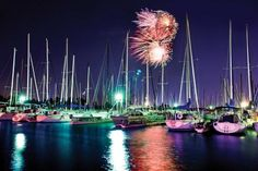 In Grapevine, Texas, you can catch fireworks over Lake Grapevine every Friday this summer until Labor Day weekend!