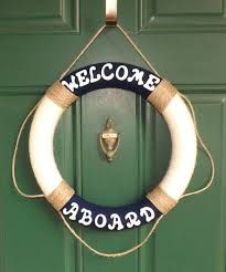 Image result for life preserver wreath