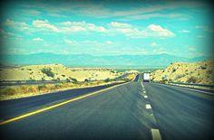 Interstate 40, Mojave Desert, California