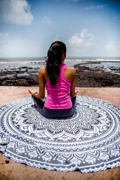My shop: Mandala Round Tapestry Hippie Indian Mandala Beach Roundie Picnic Table Hippy Bohemian Meditation Yoga Mat- 72 Inches, Black, Indie Pop Picnic Mat, Picnic Table, Meditation Mat, Indian Mandala, Indie Pop, Mandala Tapestry, Table Covers, Tapestry Wall Hanging, Days Out