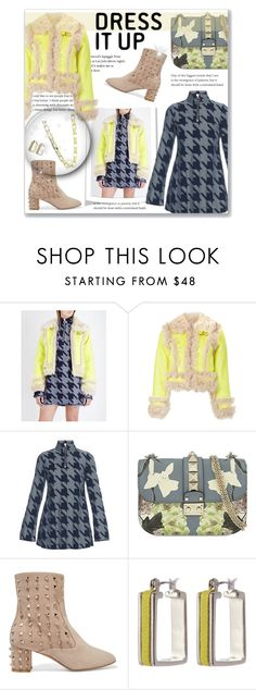 """""""Dress It Up"""" by leanne-mcclean ❤ liked on Polyvore featuring Marques'Almeida, Valentino and Diane Von Furstenberg"""