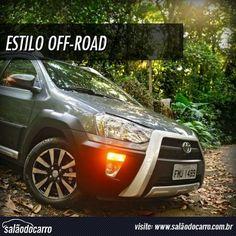 EXCLUSIVO: Teste completo do Toyota Etios Cross!  » www.salaodocarro.com.br/testes/toyota-etios-cross.html