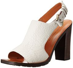 10 Crosby Women's Jemina Dress Sandal, Soft White, 9 M US