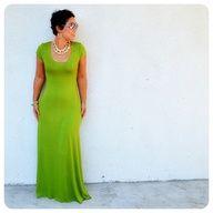 DIY T-Shirt Maxi Dress Tutorial (long or short sleeve) - love this dress!!!