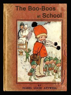 """by Mabel Lucie Attwell, from """"The Boo Boos at School"""", via http://www.fairyworx.net/Mabel_Lucie_Attwell.html, marked as in Public Domain."""