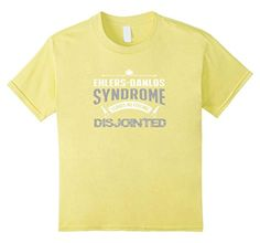 Kids Ehlers Danlos Syndrome Leaves Me Feeling Disjointed Shirt 12 Lemon - Brought to you by Avarsha.com