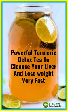 Weight Loss Drinks, Weight Loss Smoothies, Fast Weight Loss, How To Lose Weight Fast, Loose Weight, Turmeric Detox, Turmeric Water, Ginger Water, Lemon Water