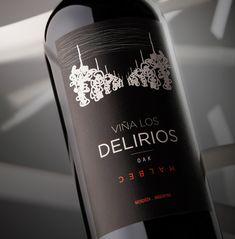 #Packaging #Design #Wines #GraphicDesign #Design #Label #NewProject #ViñaLosDelirios