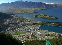 Queenstown NZ...mountains and ocean...perfect!