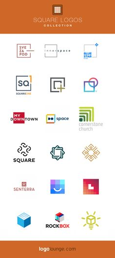 Logo Collection : Squares. From simple linear outlines, to more complex cubes. Car Logo Design, Fashion Logo Design, Best Logo Design, French Logo, Future Logo, Ring Logo, Lab Logo, Logo Shapes, Typographic Logo