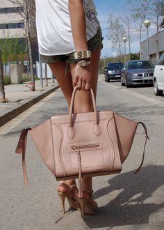 Céline 'Phantom' bag Spring 2013 #streetstyle