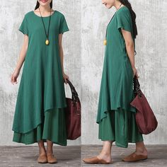 Hey, I found this really awesome Etsy listing at https://www.etsy.com/listing/233101137/loose-fitting-long-maxi-dress-summer