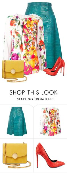 """""""Untitled #601"""" by oxigenio ❤ liked on Polyvore featuring Proenza Schouler, Blumarine, Marc Jacobs and TaylorSays"""