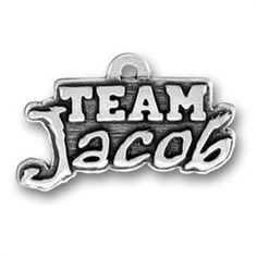 Twilight Inspired Team Jacob Charm