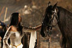 Tarja and the war horse in Sleeping Sun music vid go watch and listen http://www.youtube.com/watch?v=4XopsFtdaLw
