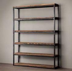 biblioteca madera muebles