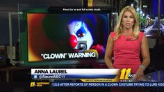 Clown or Clowns Reportedly Spotted Luring Kids into the Woods