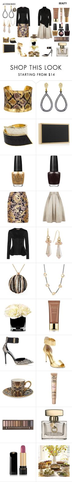 """""""Brunch"""" by colesumler ❤ liked on Polyvore featuring Évocateur, CC SKYE, Victoria Beckham, OPI, Lanvin, Coast, Christopher Kane, Ultimate, Carolee and Effy Jewelry"""