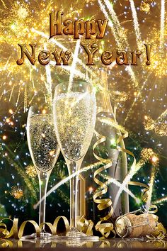 Happy New Year Fireworks And Champagne new year happy new year new year images new year quotes happy new year gifs Happy New Year Images, Happy New Year Quotes, Happy New Year Wishes, Happy New Year Greetings, Happy New Year 2018, Quotes About New Year, Merry Christmas And Happy New Year, Happy 2017, Happy New Year Funny