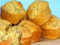 Muffins - Lemon & Poppyseed Lemon Poppyseed Muffins, Lemon Muffins, Lemon Recipes, Seeds, Potatoes, Baking, Vegetables, Breakfast, Food
