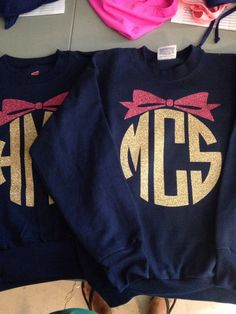 YOUTH Sweatshirt Monogrammed crew neck pullover girls by YounInkBoutique on Etsy