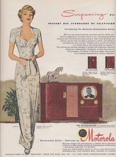 Ad Motorola TV 1949   by Retroarama