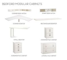 Build Your Own - Bedford Modular Cabinets #potterybarn