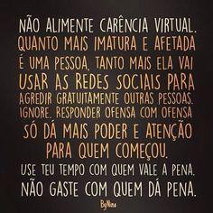 Por favor... #frases #carência #ignore #nãosejaessapessoa #ByNina #instabynina