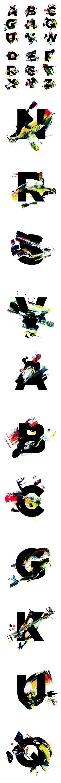 RAW - NOTEGRAPHY By Alex Trochut: