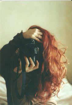 photography red hair fashion indie Grunge camera nikon fotografía ...