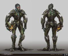 ArtStation - Vossk Character, Tobias Frank