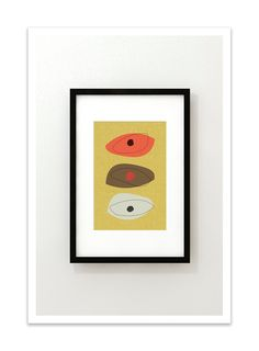 STACK+no.25++Giclee+Print++Mid+Century+Modern+Modernist+by+Thedor,+$24.00