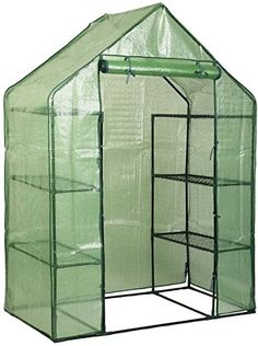 NEED: Walk In 8 Shelves Greenhouse Portable Mini Outdoor 4 Tier Green House  New