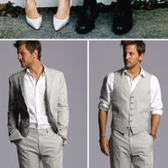 @Laura Baker two options for casual groom