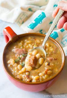 Our Nana's Epic Navy Bean Ham Bone Soup Recipe