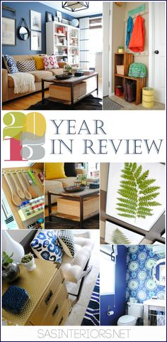 2013 Year in Review: Looking back at Do It Yourself projects from the past year by @Jenna_Burger, www.sasinteriors.net
