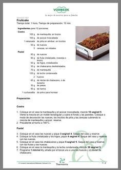 Fruitcake parte 1 thermomix