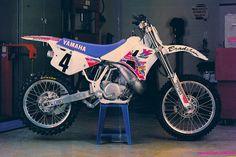 Damon Bradshaw's 92 Factory YamahaYZ250 | Tony Blazier | Flickr