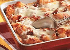 @Pillsbury Grands! Pepperoni Pizza Bake